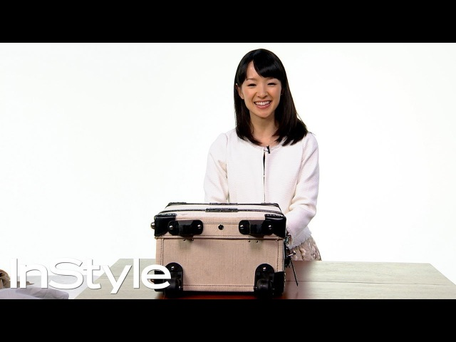 Marie Kondo Shows Us How to Travel Tidy   InStyle