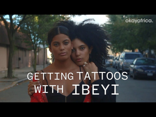 Getting Tattoos with Afro French-Cuban Duo, Ibeyi.
