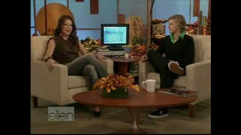 Evangeline Lilly on Ellen Degeneres 11/18/05