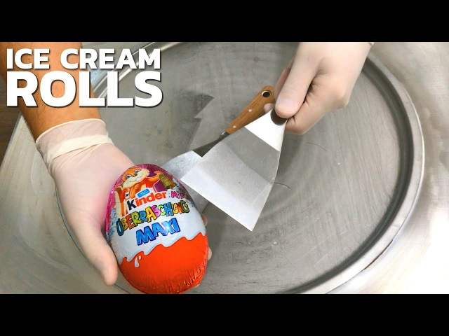 Ice Cream Rolls | Opening, unboxing and how to make Ice Cream | ASMR