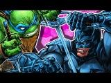 БЭТМЕН и ЧЕРЕПАШКИ-НИНДЗЯ! ЧАСТЬ 2. DC. IDW. Batman and Teenage Mutant Ninja Turtles