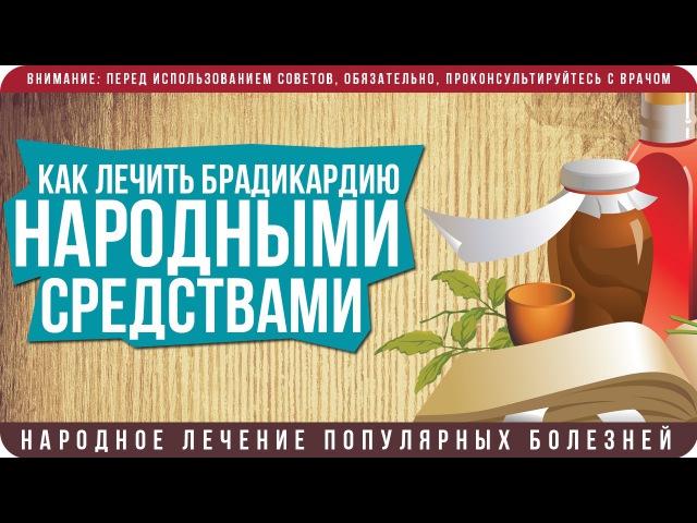 Лечение брадикардии в домашних условиях народными средствами