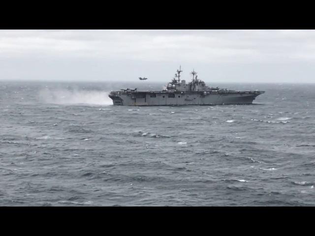 F 35B Operations USS Wasp LHD 1