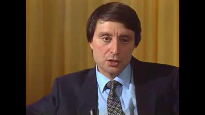 Наш Володя. Интервью с Вениамином Смеховым (1986)
