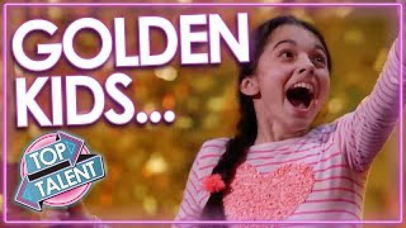 TOP Kids Golden Buzzers From Got Talent Worldwide Darci Lynne Beau Dermott MORE Top Talent