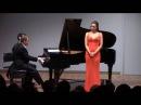 NADINE SIERRA sings Me llaman la Primorosa - Kamal Khan - piano