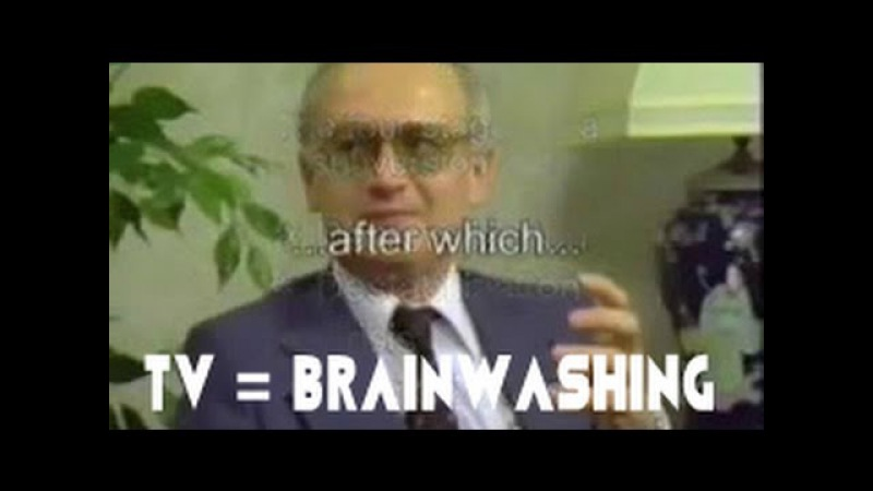 STOP WATCHING TV - Ex Russian KGB Agent Tells You What TV Is Actually Used For