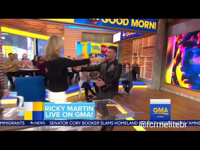 (INTERVIEW) Ricky Martin on GMA (January 17, 2018)