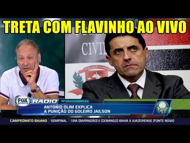 FLAVIO GOMES É DETONADO AO VIVO