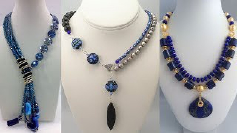 Latest Fashionable Beaded Necklaces Designs||Unique Beads Necklace Designs 2018