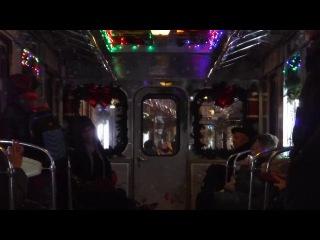 Новогодний Еж3 Ем-508Т перегон Речной вокзал-Ховрино