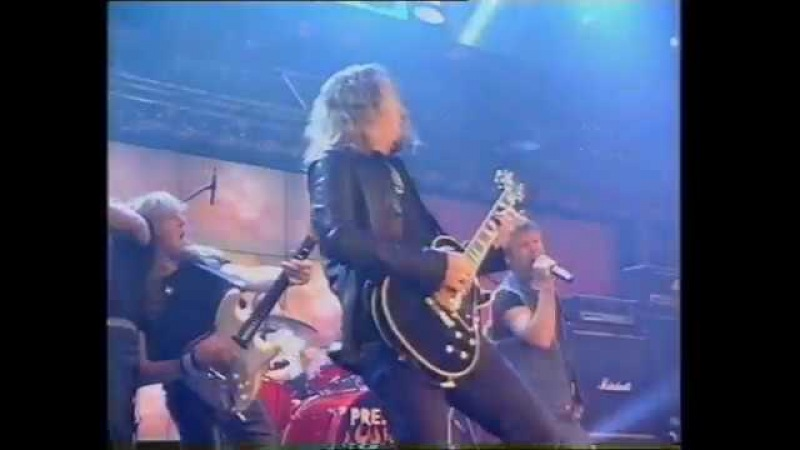Iron Maiden The Wicker Man Top Of The Pops Friday 19 May 2000