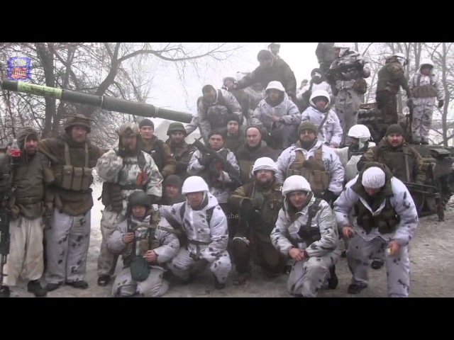 Войско днр перед атакой на Углегорск/Dnr army before the attack on Uglegorsk
