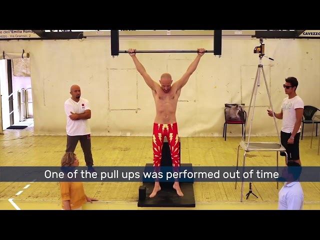 Мировой рекорд по подтягиваниям на время побит: 54 за минуту!
