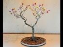 Arbol decorativo de alambre decoration wire tree