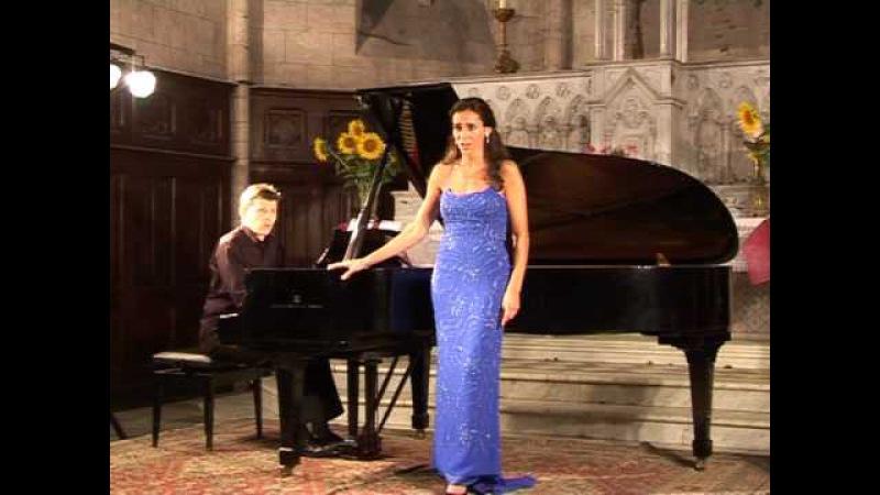 Fauré Après un rêve Verene Andronikof soprano, Thierry Huillet piano