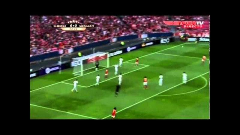SL Benfica 0 - 2 São Paulo FC - Golos e Resumo do Jogo
