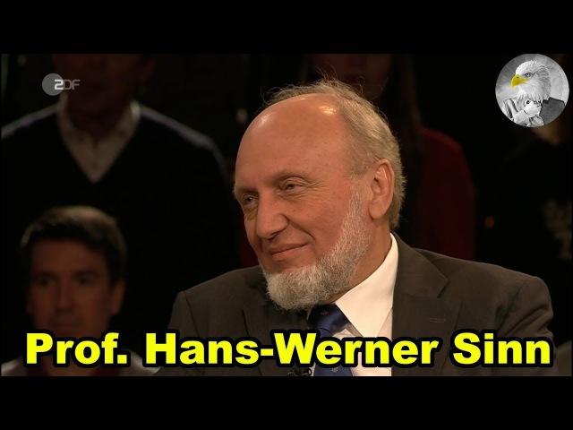 Ökonom Prof. Hans-Werner Sinn bei | Markus Lanz 15.03.2018