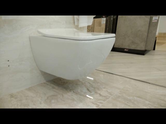 Villeroy boch Venticello унитаз безободковый wall toilet виллерой вентичелло