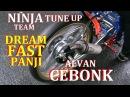 CEBONG GAGAL JUARA Dengan NINJA TU 155cc DREAM FAST PANJI | VIDEO DRAG BIKE
