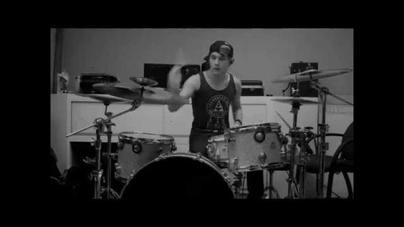 Set It Off - Breathe In, Breathe (Maxx Danziger Drum Playthrough)
