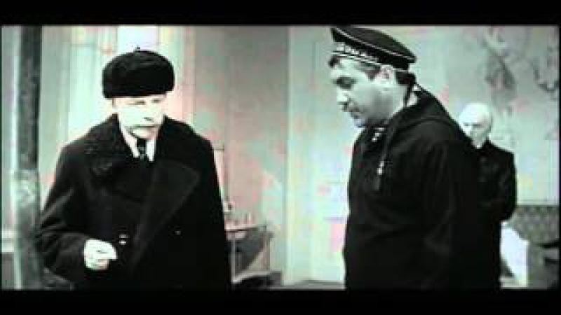 На одной планете 1965, Ленфильм. И. Смоктуновский в роли Ленина.