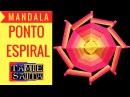 Mandala Ponto ESPIRAL com Tamie Saita Arte Terapia