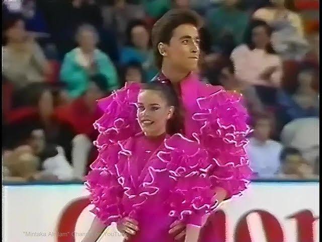 Ekaterina Gordeeva and Sergei Grinkov 1990 Worlds Exhibition