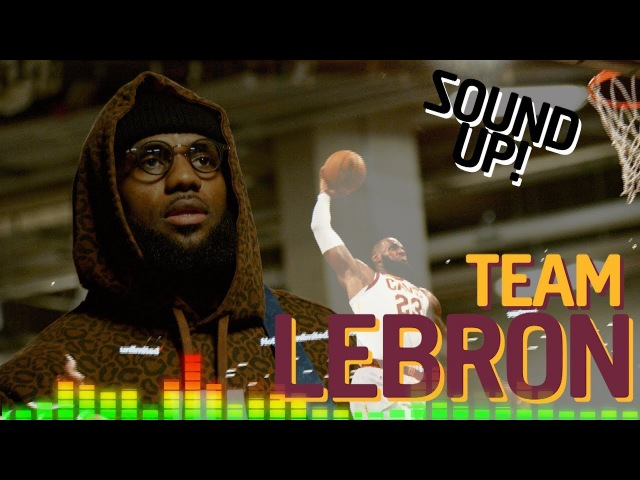 SOUND UP Team LeBron 2018 NBA All Star Game