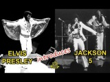 Elvis Presley introduces Jackson 5, Lisa Marie is in the audience