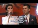 Hilola Hamidova va Qilichbek Madaliyev Seni bugun ko'rmasam bo'lmas concert version