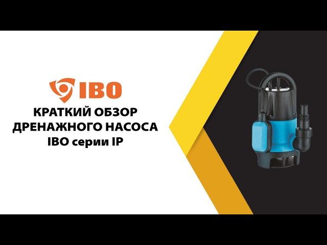 Дренажный насос IBO серии IP