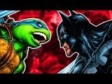 БЭТМЕН и ЧЕРЕПАШКИ-НИНДЗЯ ТАЙНЫЕ ПЛАНЫ ШРЕДДЕРА! #3 IDW. Batman &amp Teenage Mutant Ninja Turtles