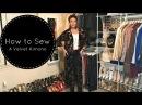 How to Sew a Velvet Kimono
