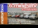 Sfida tra Mini SUV C3 Aircross, Kona, Stonic, Captur, Arona, Vitara