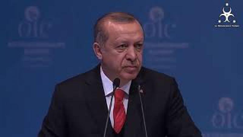 Erdogan a tenu un discours HISTORIQUE lors la coopération islamique.