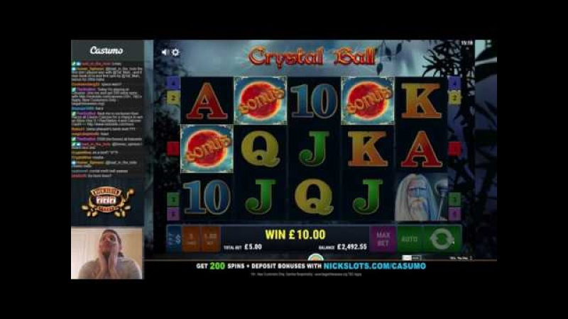 INSANE RUN on Crystal Ball Slot - BIG Bets!