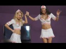 2 nurses crush girls face feet trample