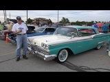 1959 Ford Fairlane 500 Galaxie - HomerGlen Car Show