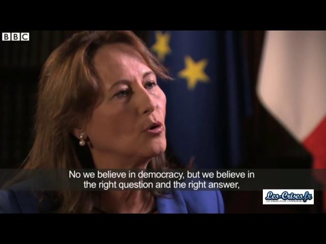 182 La Démocratie vue par Ségolène Royal Nous ne ferons pas l erreur de David Cameron