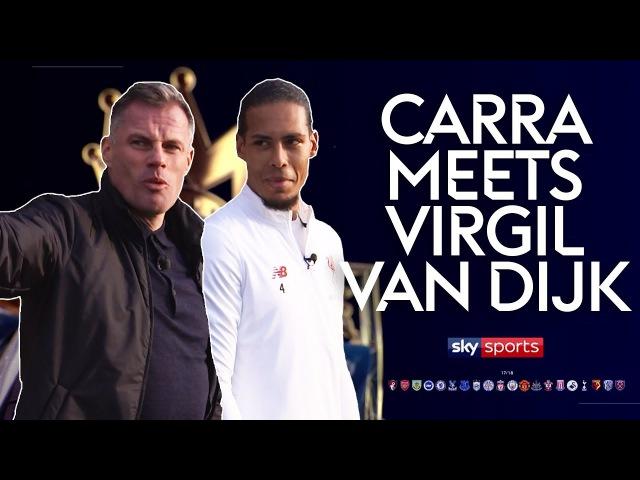 Jurgen Klopp is the perfect manager for me Carra Meets Virgil van Dijk