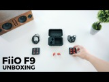 FiiO F9 Headphones Un Boxing