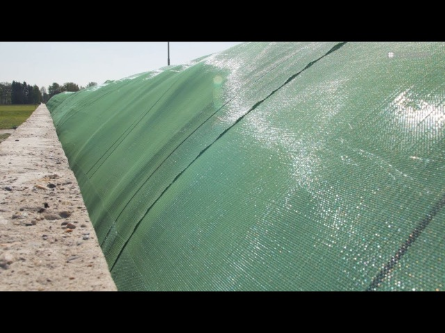Agritec® Silage Safe   New tensioning system for fast, efficient covering of silage
