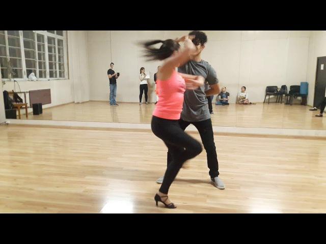 Felipe Garcia and Oksana Andreeva - Zouk Demo (turns 2)