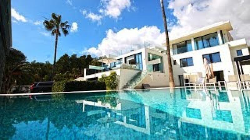 Hi-Tech вилла в La Nucia, современная недвижимость в Испании на побережье Коста Бланка