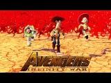 Трейлер «Войны бесконечности» с героями Pixar