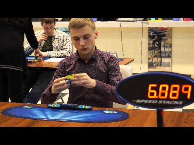 Ihor Bilchenko 3x3 WCA average 9.36