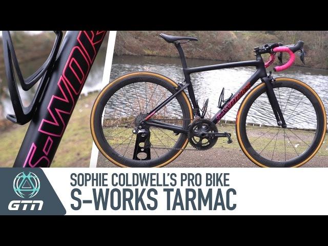 Sophie Coldwell's Specialized S-Works Tarmac SL6 Pro Triathlon Bike