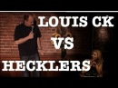 Louis CK vs. H E C K L E R S Compilation!! (Cellar Crowd)
