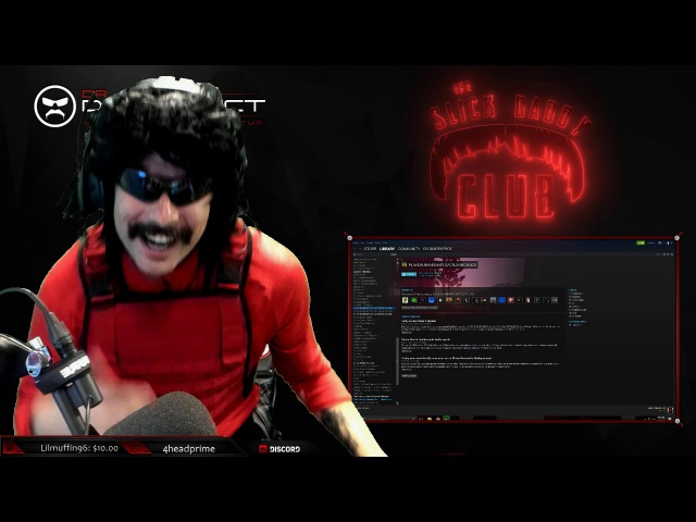 Dr.Disrespect singing RAUL GILLETTE THE BEST A MAN CAN GET
